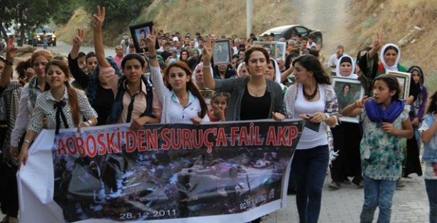 'Roboski'den Suruç'a fail AKP'