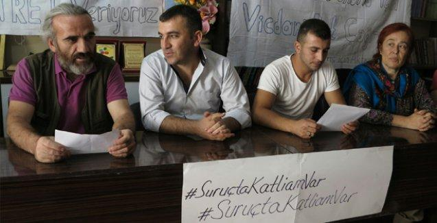 'Roboski'den Suruç'a, katleden devletin hiçbir koşulda askeri olmayacağım'