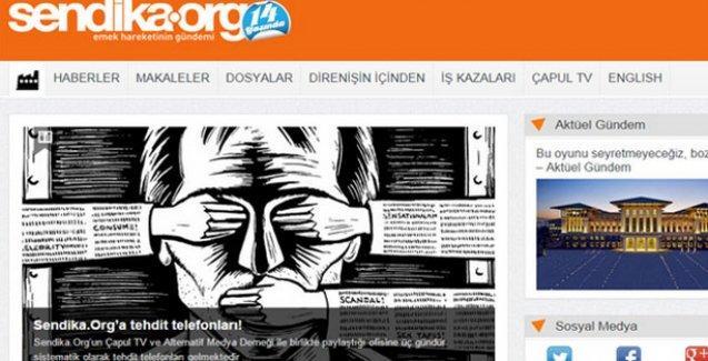 Sendika.org: Tehdit alıyoruz