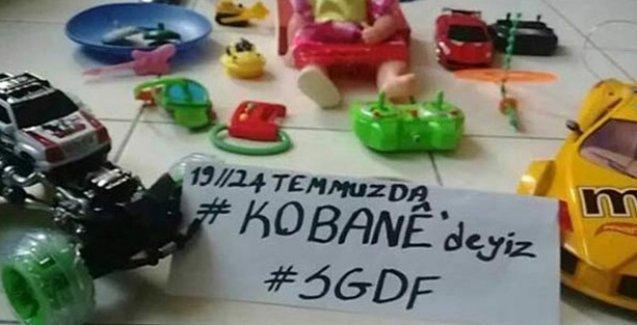 Suruç'a giden CHP heyeti: Gençlerin hedefi o kütüphaneyi Kobani'ye kuracağız