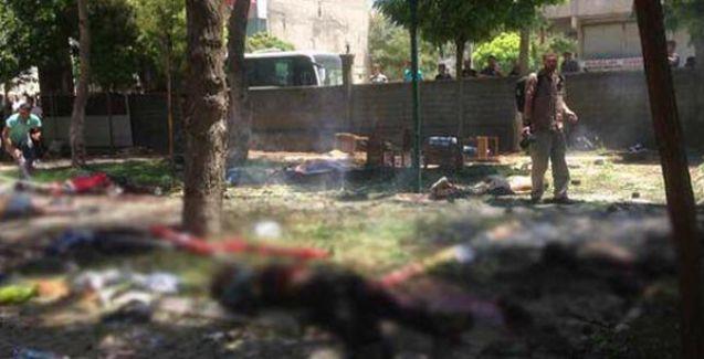 Suruç'ta katliam: SGDF'li gençlerin toplandığı merkezde patlama!