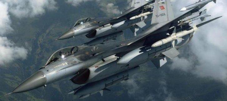 TSK'dan Suriye'de hava operasyonu