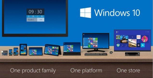 Windows 10 kademeli gelecek