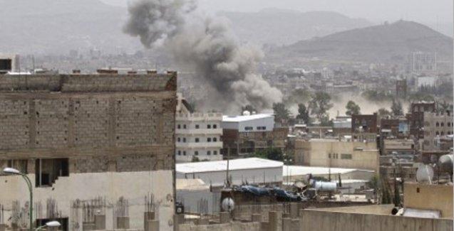 Yemen'de koalisyon güçleri bombaladı, ateşkesi başlar başlamaz ihlal etti