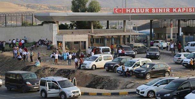 YPG'lilerin cenazeleri  4 gündür Habur'da bekletiliyor