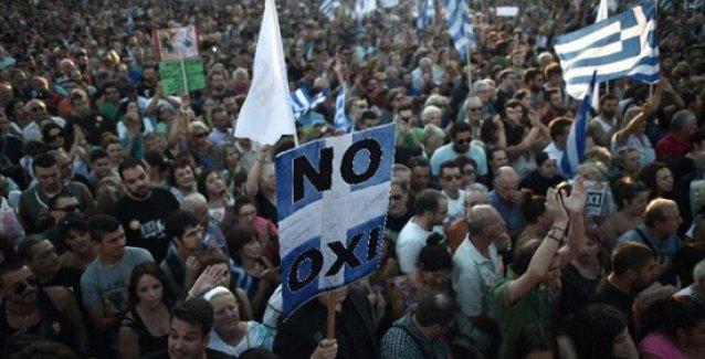 'Yunanistan'daki referandum net bir sınıfsal yarılmayı açığa çıkartabilir'