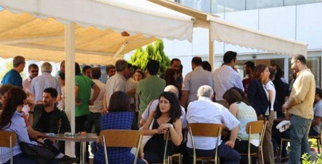 Yüzlerce avukat Öcalan'la görüşme talebi ile Gemlik'te