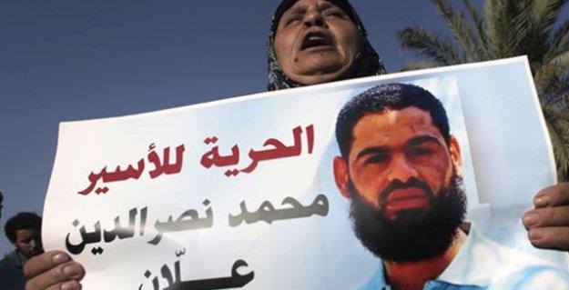 60 gündür açlık grevi eylemi yapan Filistinli tutuklu, bilincini kaybetti