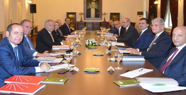 AKP ve CHP arasındaki ön görüşmeler tamamlandı