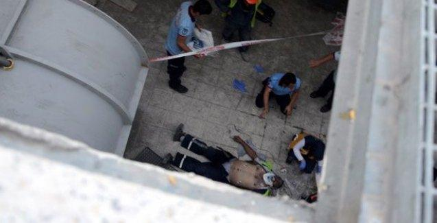 Ankara metro inşaatında iş cinayeti