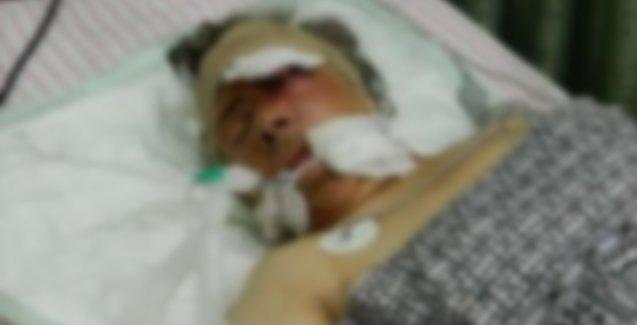 Asker Rojavalı kadını ağır yaraladı