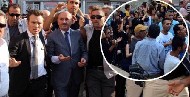 Bakanı protesto edince DHKP-C'li ilan edilen asker yakını konuştu