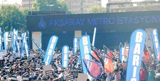 Barış Bloku 9 Ağustos'ta İstanbul'da miting yapacak