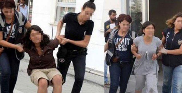 Bere, ayraç ve kitap delil gösterildi...3 çocuk tutuklandı