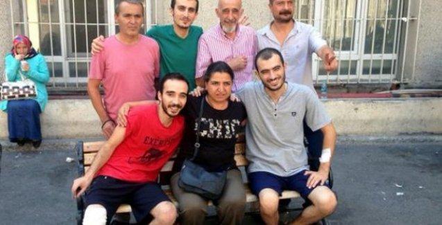 Berkin Elvan'ın ailesi Suruç yaralılarını ziyaret etti