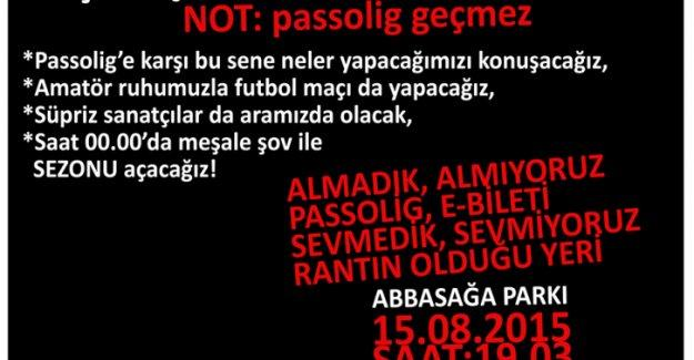 Beşiktaş taraftarı sezonu Abbasağa Parkı'nda açıyor: Tribünde olamazsak, sokağı tribün yaparız!