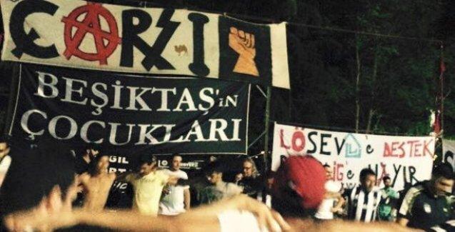 Beşiktaş taraftarı sezonu Abbasağa Parkı'nda açtı