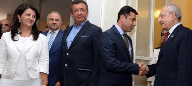 CHP-HDP görüşmesi sonrası ilk açıklama: Silahlar susmalı