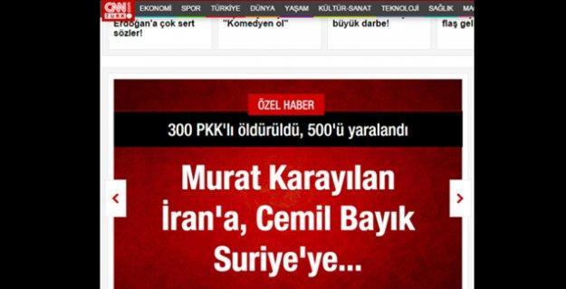 CNN Türk 'özel haber'iyle Anadolu Ajansı'nı 'solladı', sosyal medya ti'ye aldı