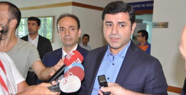 Demirtaş: Ankara sesimizi duyana kadar sesimizi yükseltmeliyiz