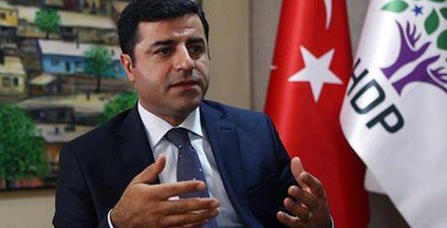Demirtaş: KCK, 'Önce Öcalan ile görüşelim' dedi