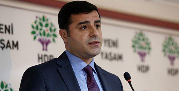 Demirtaş'tan seçim hükümeti açıklaması: Hükümetin yarısı...