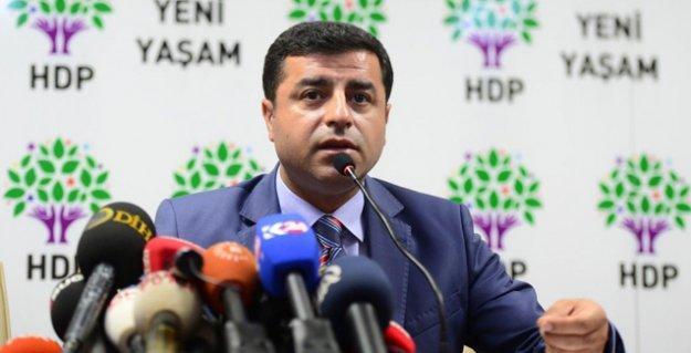 Almanya programını iptal eden Demirtaş,Türkiye ye dönüyor