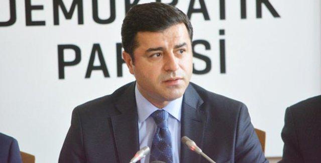 Demirtaş'ın Erdoğan hakkındaki suç duyurusu işleme konulmadı