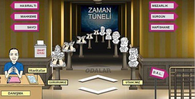 Erdoğan, Düşünce Suçları Müzesi'nin Utanç galerisinde