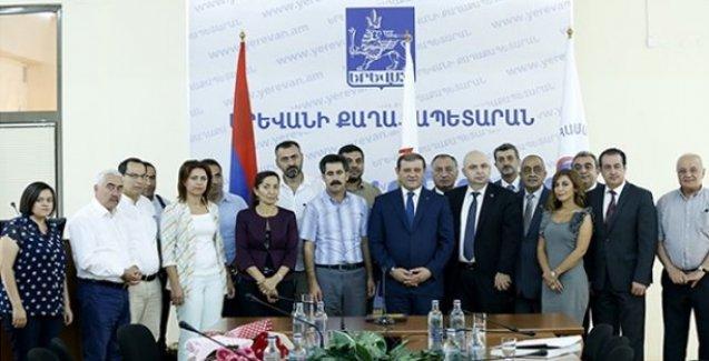 Ermenistan ve Türkiyeli belediye başkanlarından dostluk mesajı