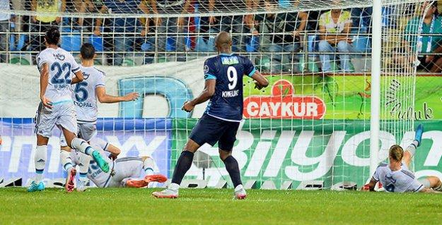 Fenerbahçe, Rize'de 1 puana razı