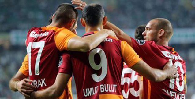 Galatasaray Konya'da ayağa kalktı