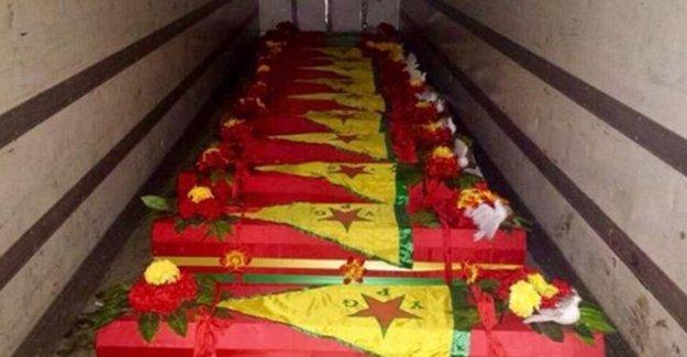 Habur Sınır Kapısı'nda bekletilen YPG'lilerin cenazeleri ailelerine verilecek