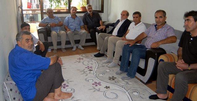 HDP heyetinden asker ailesine taziye ziyareti