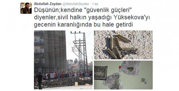 HDP'li vekil paylaştı: Gazze değil, burası Yüksekova