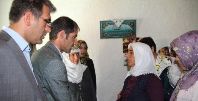 HDP'li vekillerden askerin ailesine taziye ziyareti