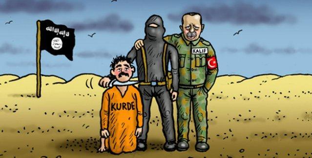 'IŞİD operasyonları' Alman medyasında: 'Asıl halife Erdoğan'