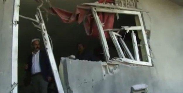 İşte askerin saatlerce bombaladığı Şapatan köyü