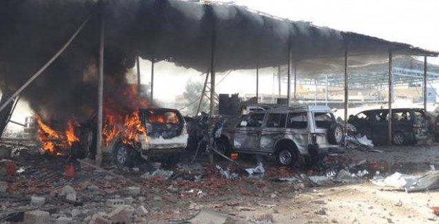 Kamışlı'da patlama: 10 ölü
