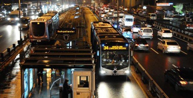 Metrobüste şarj dönemi