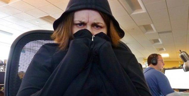 Ofislerdeki klima savaşlarının mağduru kadınlar
