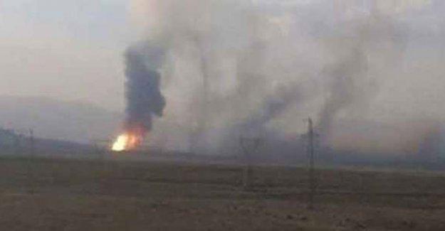 PKK'den petrol boru hattına yapılan saldırıya ilişkin açıklama