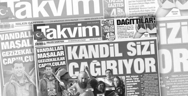Ragıp Duran: 'İktidarın halet-i ruhiyesini en iyi iki gazete yansıtıyor: Takvim ve Akit!'
