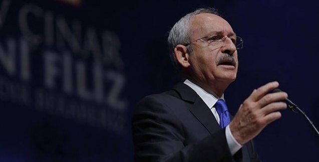 Erdoğan konuşurken Kılıçdaroğlu: Ülke yangın yeri, tek dertleri başkanlık