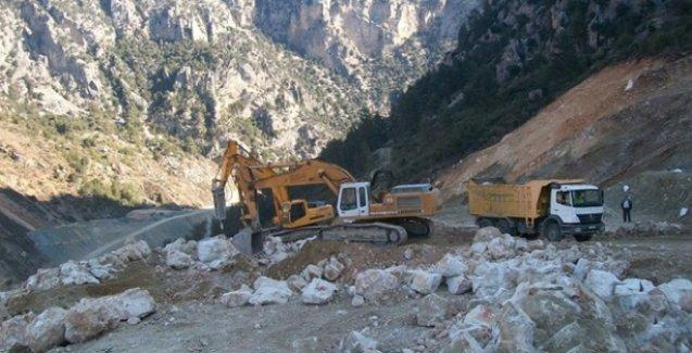 Silvan Barajı'na roketli saldırı