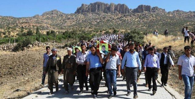 YPG'li Çapan'ın cenazesi 10 gün sonra Cudi'de toprağa verildi