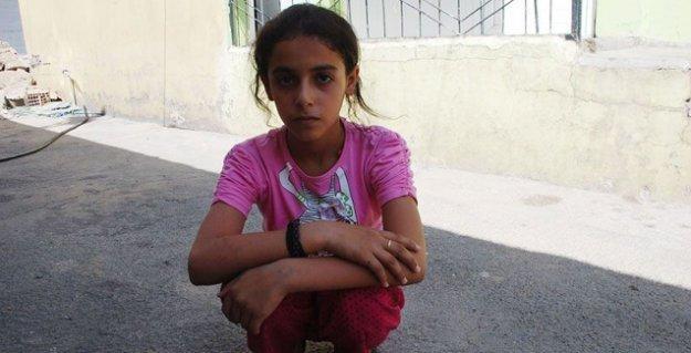 13 yaşındaki Cizreli Melek: 'Savaş bitsin çünkü ölmek istemiyorum, barış istiyorum'