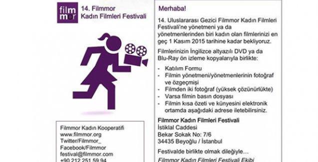 14. Filmmor Kadın Filmleri Festivali'ne başvurular başladı