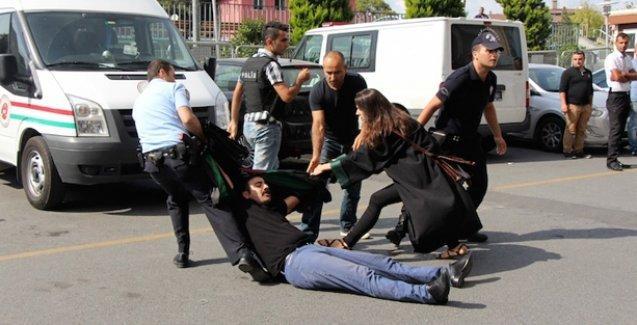 25 barodan ortak açıklama: Adliyede saldırıya uğrayan meslektaşlarımızın yanındayız