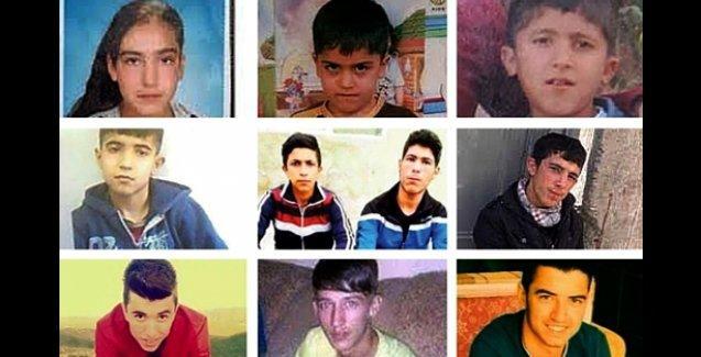 71 günde 20 çocuk öldürüldü